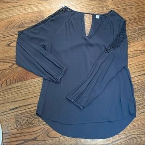 Old Navy Tops - Old Navy Flowy Blouse with Detailed Sleeves